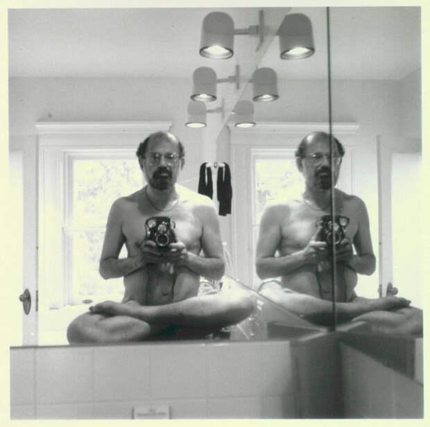 Аллен Гинзбург, поэт, 1985 звезды, люди, фото
