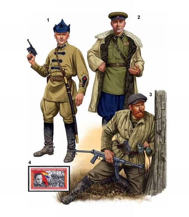 Советские спецслужбы в начальный период с момента своего создания