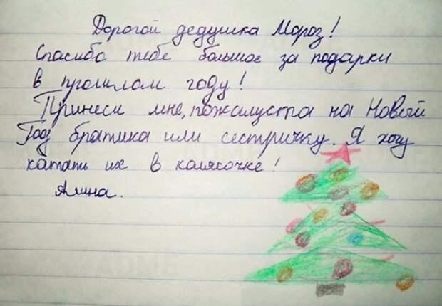 20 писем Деду Морозу от самых послушных детей