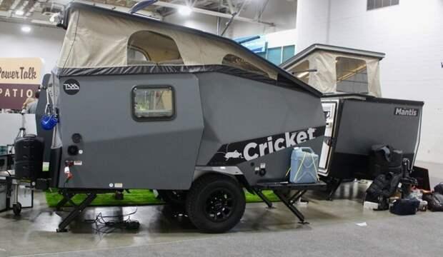 2. Модель Cricket Overland от фирмы Taxa Outdoors авто, дома на колесах, кемпинг, отдых, прицепы, трейлер, трейлеры, фото