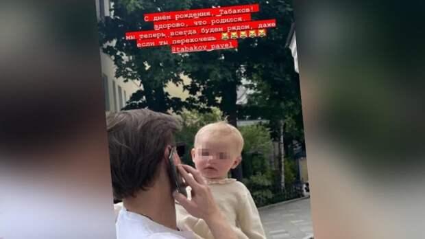 Родившая от Павла Табакова актриса показала его с фото с дочкой