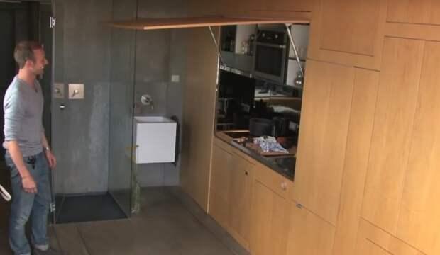Очень маленькая квартира холостяка (24 кв.м.)