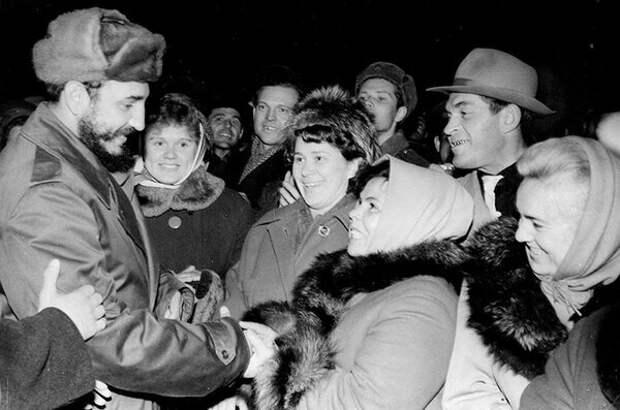 История о том, как Фидель Кастро посетил Советский Север