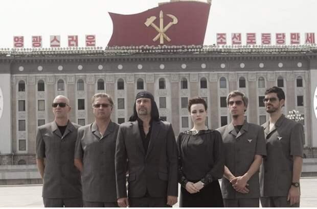 Laibach стала первой западная рок-группой, кому разрешили выступить на территории Северной Кореи