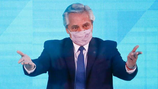 Медики рассказали о состоянии заразившегося коронавирусом президента Аргентины