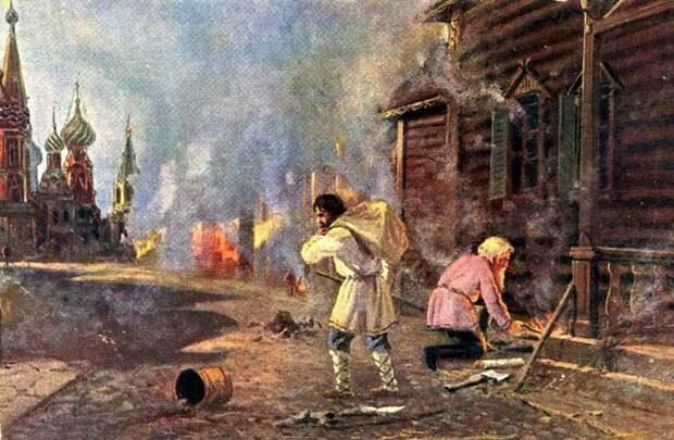 Как это было: борьба с пожарами на Руси Смертная казнь, военные, поджигатели, пожар, пожарная команда, россия, указ