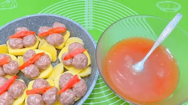 Необычный рецепт приготовления картофеля