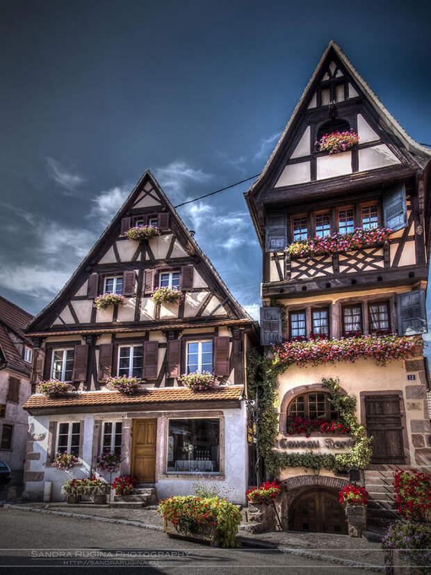 Крохотные сказочные деревушки Эльзаса