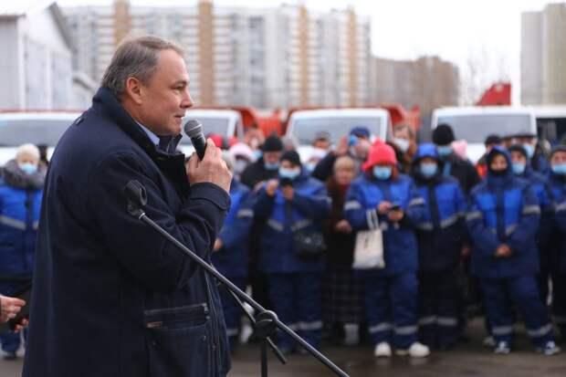 С улиц Марьина за зиму вывезли более 40 тыс.кубометров снега. фото Александр Чикин