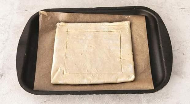 Томатный тарт с карамелизованным луком. Шаг 3