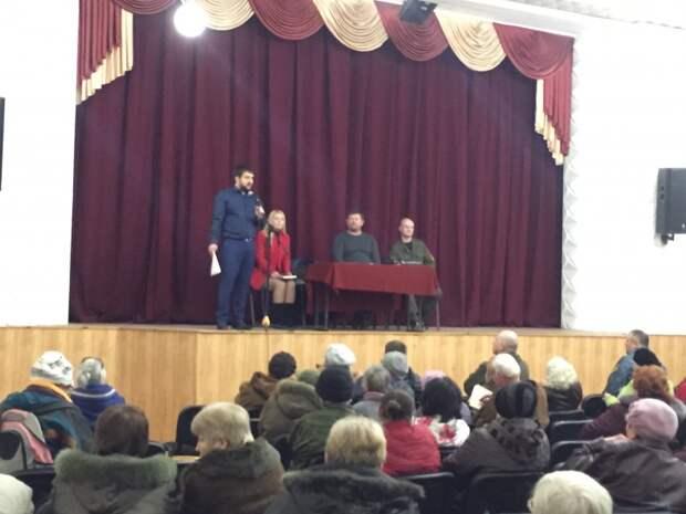 Жители Корабельной стороны недовольны работой депутатов! (фото)