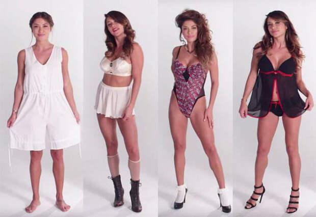 Эволюция женского белья за последние 100 лет