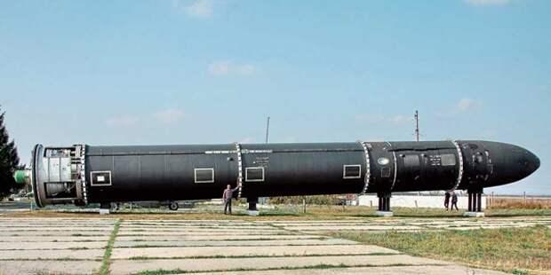 На Украине ждут, когда баллистическая ракета «Сатана» нанесёт по России ядерный удар