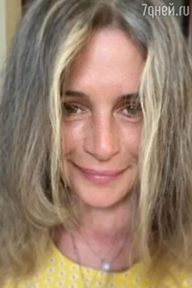 Морщины и седые волосы: 53-летнюю Оксану Фандеру стало не узнать