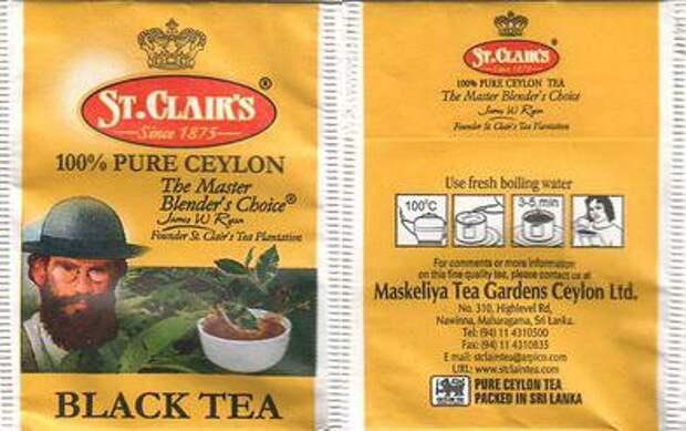 """""""Ясная поляна"""" обнаружила Льва Толстого на упаковке чая"""