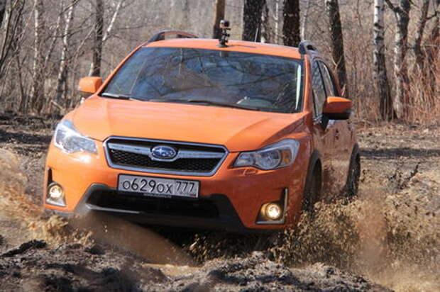 Subaru XV: проверка бездорожьем