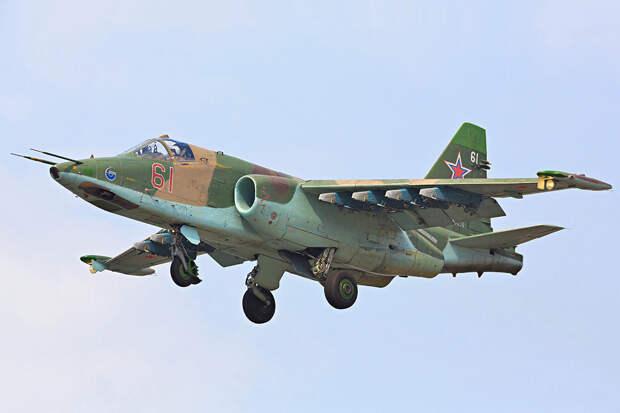 Японию напугал российский штурмовик Су-25