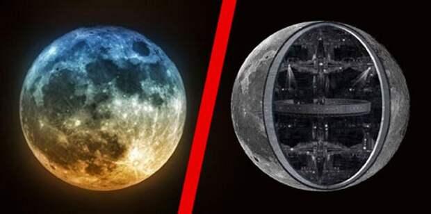 Луна обитаемый космический корабль?