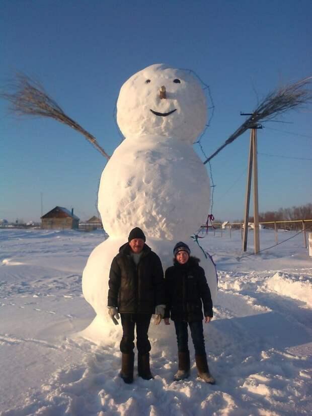 Снеговик переросток