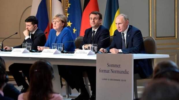 Путин на саммите в Париже показал свое реальное отношение к Зеленскому