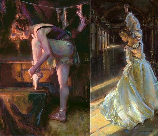 Эмоциональные картины американского художника Daniel F. Gerhartz