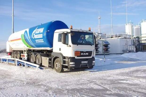 """""""Газпром"""" ожидает роста спроса на СПГ"""