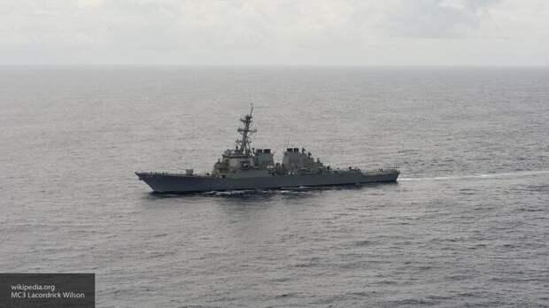 Баранец отреагировал на «выпас» эсминца США в Балтийском море