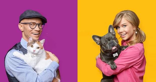 Кика Дмитриевна и Шнапс Аллович: Mars Petcare запустил кампанию с ведущими «Вечернего Урганта»