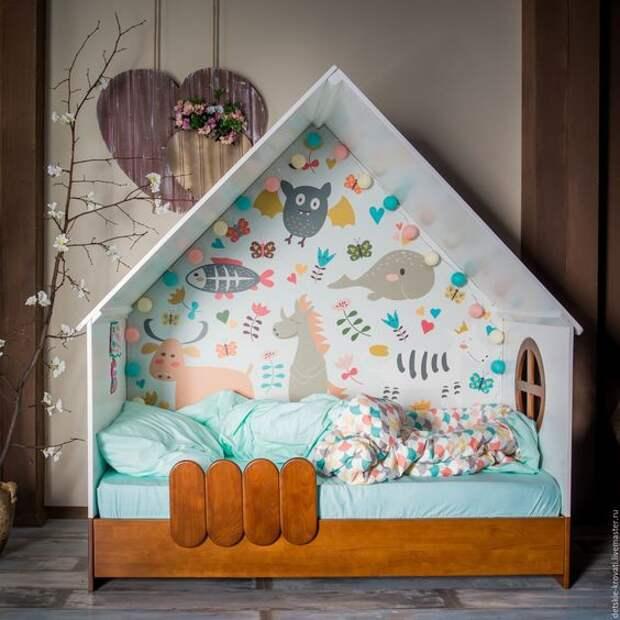 детская мебель для малышей дом