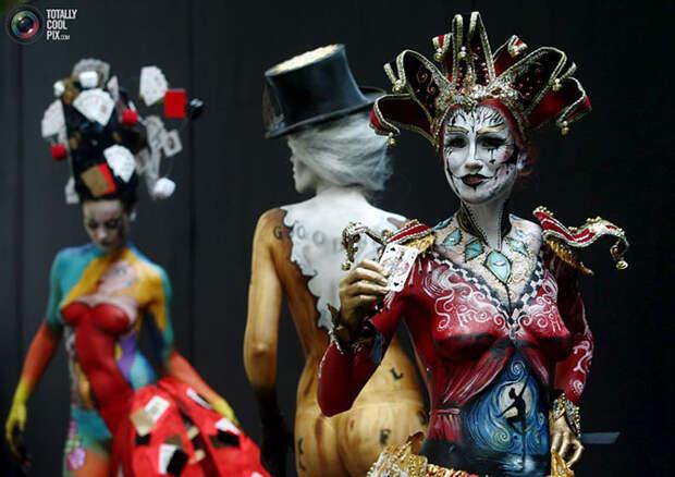 Всемирный фестиваль боди-арта 2015 в Австрии
