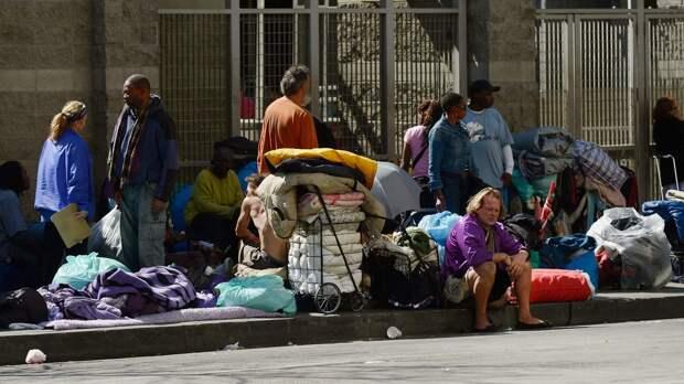 Бездомные в США