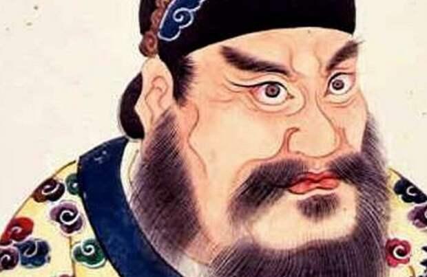 Гробница первого императора Китая.