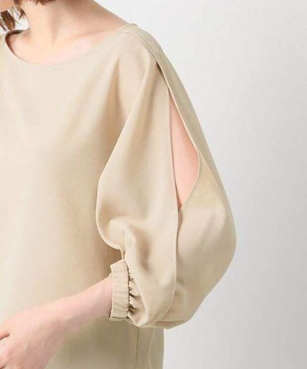 Блузки с большими рукавами