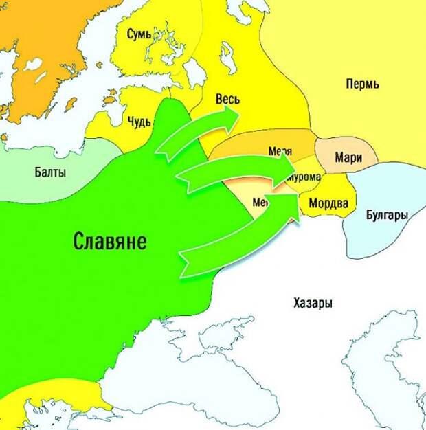Славянская колонизация Северо-Восточной Руси