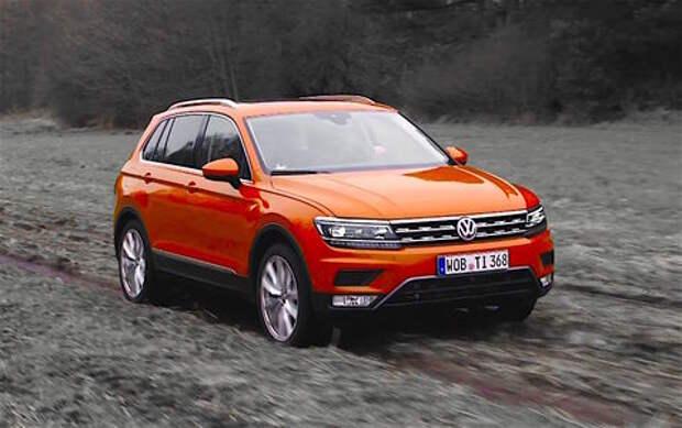 Первый видеотест нового Volkswagen Tiguan: технократ