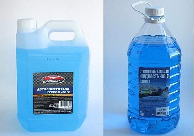 Жидкости «Ойл Райт -30» и «Top Energy -20» нейтральны к поликарбонатам, но их реальная температура замерзания заметно ниже заявленной