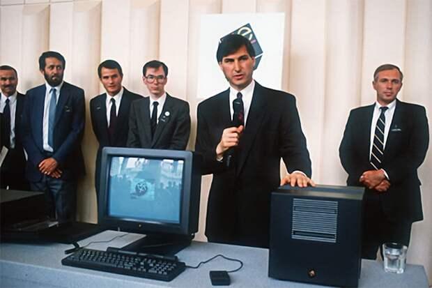 NeXT — компьютер, на котором создавался веб