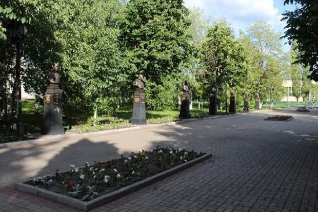 В Тамбовской области торжественно откроют аллею памяти с бюстами героев
