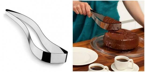 Нож-держатель для торта жизнь, изобретения
