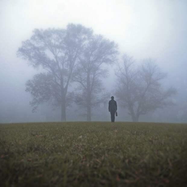 Кошмарные сны Николя Брюно в  мистических фотографиях