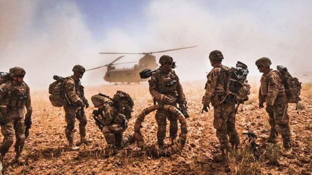 Военный контингент США в Афганистане