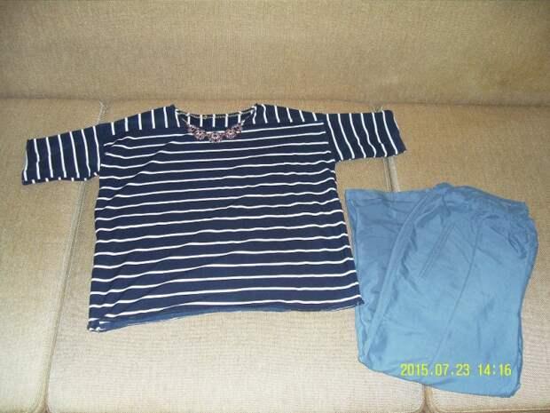 Тельняшка из старой рубашки