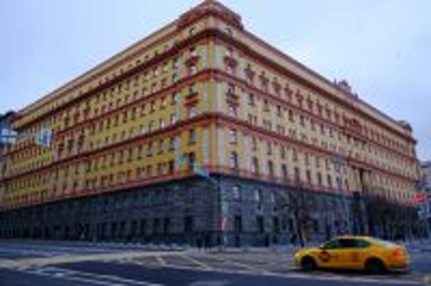 Здание КГБ (ФСБ) на Лубянской площади.