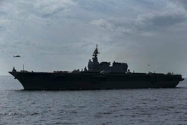 Страна Восходящего Солнца провела ежегодный смотр флота