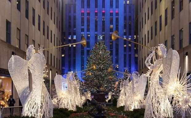 Самые красивые рождественские деревья со всего мира