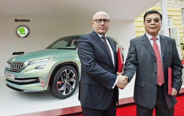 Руководство КНР даст денег на новые модели Skoda