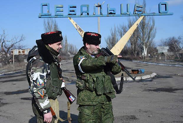 Дебальцево, февраль 2015 года