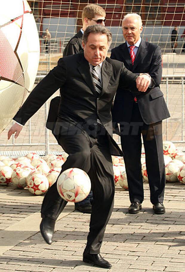 Виталий Мутко: «Российский футбол – выше среднего уровня»