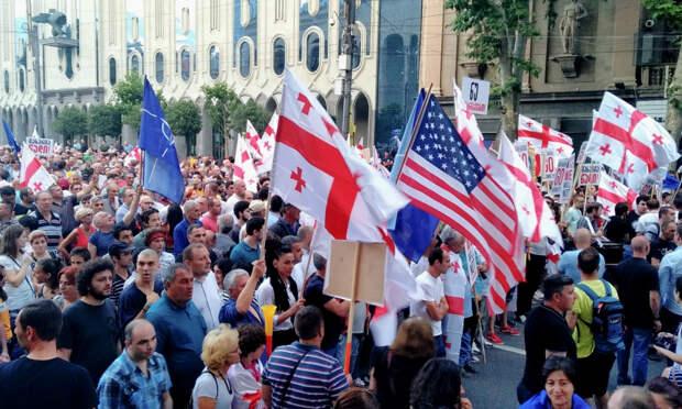 Грузию призвали перестать «валяться в пыли» в угоду Запада