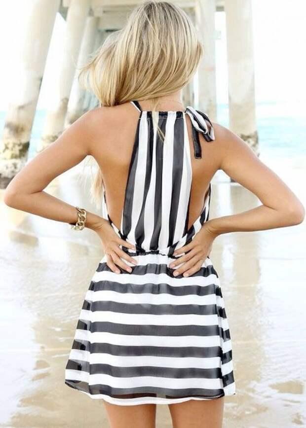 Детали блузок и спинок